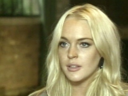 VIDEO: Lindsay Lohan leaks a song that may be commentary on her troubled life.