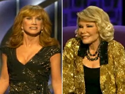 VIDEO: Joan Rivers is angry at Kathy Griffin for jokes made at her roast.