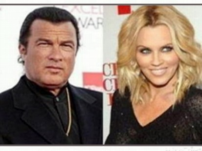 VIDEO: Jenny McCarthy says she was threatened by Steven Seagal during an audition.
