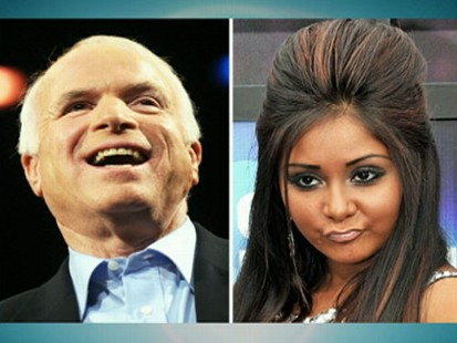 VIDEO: Sen. John McCain says Snooki is too beautiful for jail.