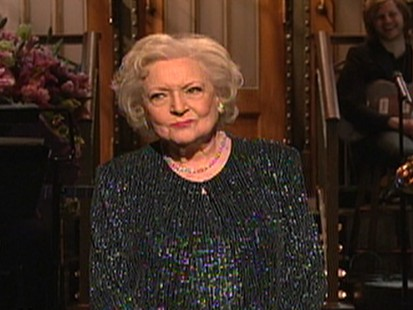 VIDEO: Betty White appears on Saturday Night Live.