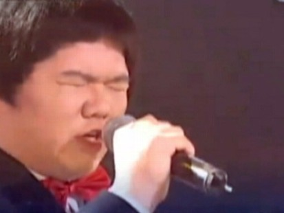 Video: Taiwanese boy shocks judges with his rendition of a Whitney Houston song.