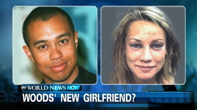 VIDEO: The woman rumored to be Tiger Woods girlfriend was arrested on suspicion of DUI.