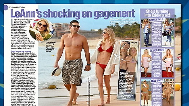 LeAnn Rimes and Eddie Cibrian Engagement Buzz