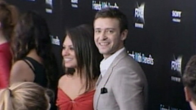 """VIDEO: """"Friends With Benefits"""" co-stars deny reports of inappropriate texts and emails."""