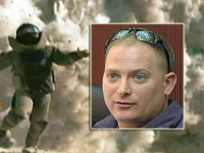 VIDEO: Sgt. Jeffrey Sarver claims Hurt Locker producers stole his identity for the film.