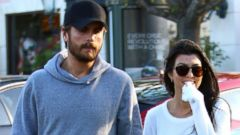 Kourtney and Scott Have Lunch Ahead of Thanksgiving