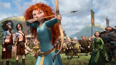 "PHOTO: A still from the animated film ""Brave"" is shown."