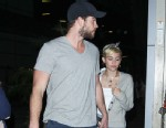 PHOTO: Miley Cyrus and Liam Hemsworth went on a movie date at Arclight in Hollywood, June 17, 2013.