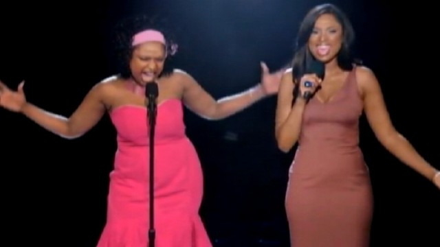 VIDEO: Weight Watchers commercial shows singer performing next to her heavier self.
