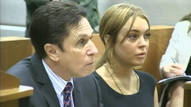 VIDEO: Actress attends a pretrial hearing in Los Angeles with her new lawyer, Mark Heller.
