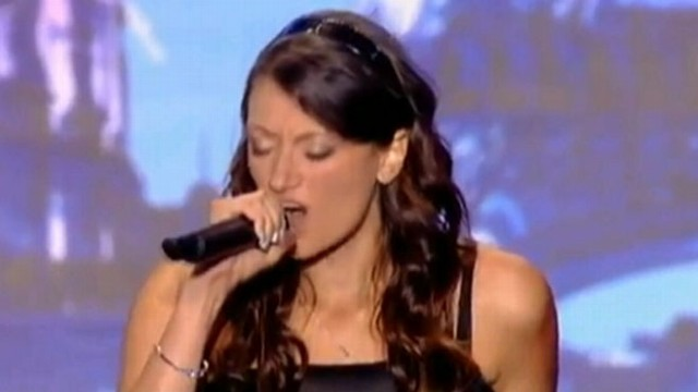 VIDEO: Rachel Aspe, 24, has become an Internet sensation after appearing on a French TV talent show.