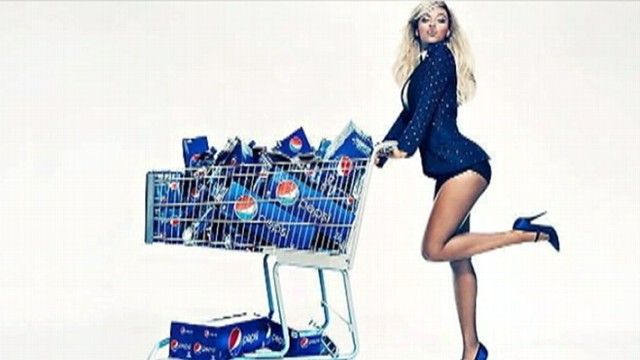 VIDEO: Singer signs $50 million deal to become the new face of the soft drink company.