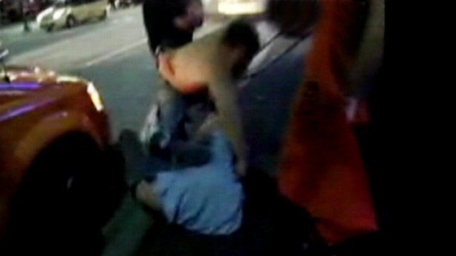 VIDEO: The 25-year-old actor was attacked outside of a Vancouver bar.
