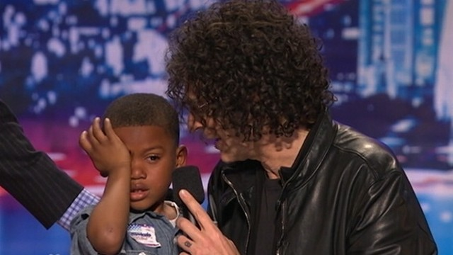 "VIDEO: ""Americas Got Talent"" judge buzzed young contestant off the show."