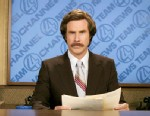 "PHOTO: Will Ferrell portrays an anchorman Ron Burgundy in ""Anchorman: The Legend of Ron Burgundy."""