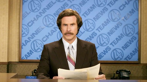 ap anchorman dm 120425 wblog Will Ferrell Says Anchorman 2 Will Deal With Entertainment News