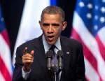 PHOTO: President Barack Obama speaks at the International Convention Center in Jerusalem, March 21, 2013.