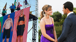 """The Biggest Loser"" and ""The Bachelor."""