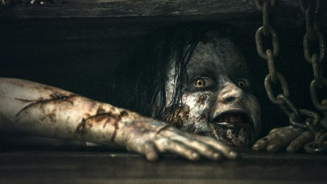 ap evil dead jef 130405 wblog Movie Review: Evil Dead Remake Delivers a Blood Monsoon
