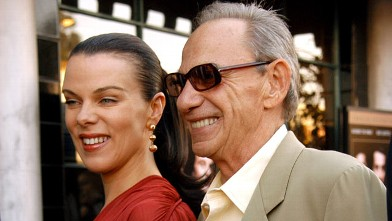 """PHOTO: Debi Mazar and Henry Hill during attend """"GoodFellas"""" Special Edition DVD Release at Matteo's Italian Restaurant in Los Angeles, Calif."""
