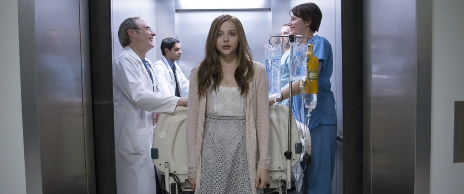 """PHOTO: Chloe Grace Moretz in a scene from """"If I Stay."""""""