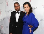 PHOTO: Singer Kanye West and girlfriend Kim Kardashian attend Gabrielles Angel Foundation 2012 Angel Ball cancer research benefit at Cipriani Wall Street in New York, Oct. 22, 2012.