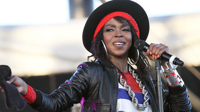 PHOTO: Singer Lauryn Hill performs during the 12th Coachella Valley Music and Arts Festival in Indio, Calif., April 15, 2011.