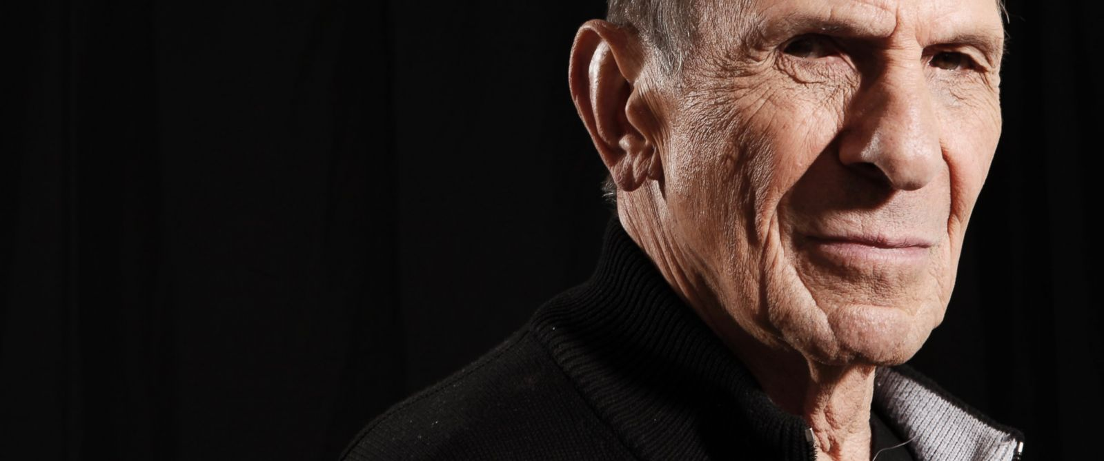 """PHOTO: Actor Leonard Nimoy, a cast member in the upcoming film """"Star Trek"""", poses for a portrait in Beverly Hills, Calif., April 26, 2009."""