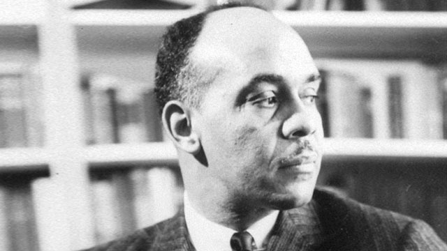 """PHOTO: Ralph Ellison, novelist and author of the widely acclaimed """"The Invisible Man,"""" has been elected a member of the National Institute of Arts and Letters."""