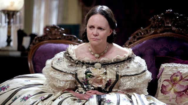 "PHOTO: Sally Field is seen in a scene from ""Lincoln."""