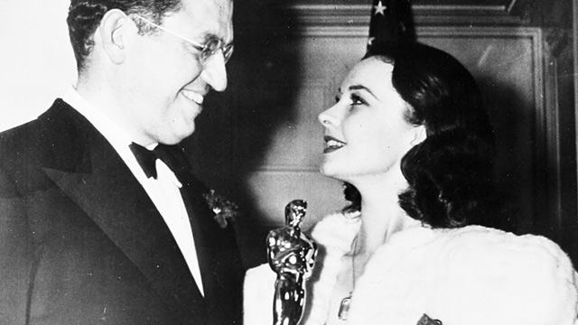 PHOTO: Vivien Leigh and David O. Selznick