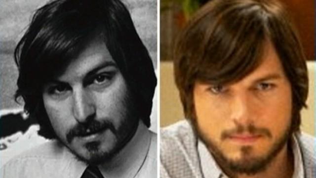 """VIDEO: Ashton Kutcher stars as the Apple co-founder in """"jOBS."""""""