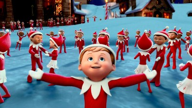 "PHOTO: Chippey and his fellow scout elves in the North Pole in ""The Elf on the Shelf: An Elf's Story"" which will broadcast Dec. 14, 2012 on CBS."