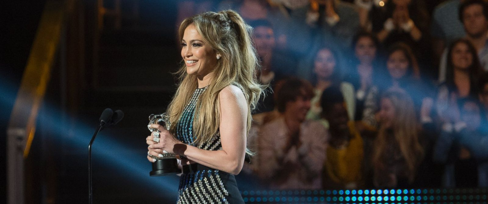 PHOTO: Jennifer Lopez was presented with the Radio Disney Hero Award on April 25, 2015, in recognition of her philanthropic work in the U.S. and around the world.