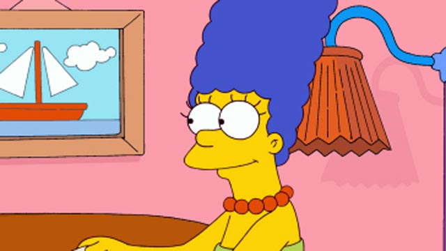 PHOTO: Marge Simpson