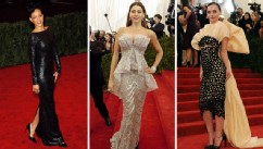 PHOTO: Fashion website Moda Operandi is will be selling nine looks from the 2013 Met Ball red carpet after the event.