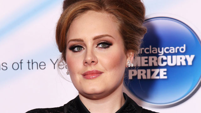 PHOTO: Adele arrives for the Barclaycard Mercury Prize 2011 at Grosvenor House in this Sept. 6, 2011 file photo in London.