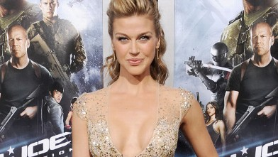 "PHOTO: Adrianne Palicki arrives at the ""G.I. Joe: Retaliation"" Los Angeles premiere at TCL Chinese Theatre on March 28, 2013 in Hollywood, Calif."