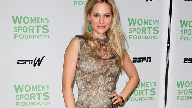 PHOTO: Paralympian Aimee Mullins attends the 33rd annual Salute To Women In Sports gala at Cipriani Wall Street on October 17, 2012 in New York City.