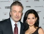 PHOTO: Alec Baldwin and Hilaria Baldwin attend the 2013 Roundabout Theatre Company Spring Gala at Hammerstein Ballroom on March 11, 2013 in New York City.