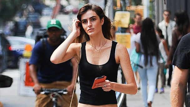 PHOTO: Model Ali Lohan is seen in Soho on August 30, 2013 in New York City.