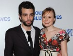 "PHOTO: Jay Baruchel and Alison Pill attend the after party for the Broadway opening night of ""The House of Blue Leaves"" at Sardis on April 25, 2011 in New York City."