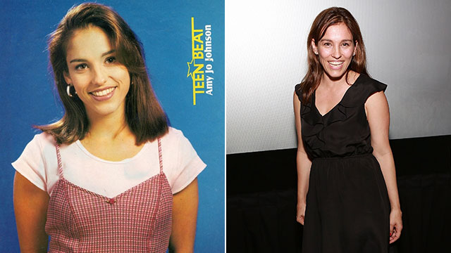 PHOTO: Kimberly Ann Hart, The original Pink Ranger, and original Pink Ninja Ranger; portrayed by Amy Jo Johnson; Johnson in New York, June 7, 2013.