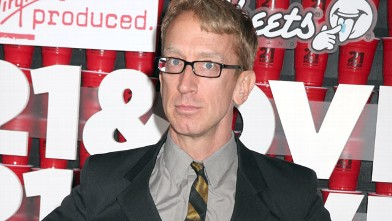 "PHOTO: Andy Dick arrives at ""21 & Over"" at Westwood Village, Feb. 21, 2013 in Los Angeles."