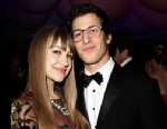 PHOTO: Joanna Newsom and Andy Samberg attend the 2013 Vanity Fair Oscar Party at Sunset Tower, Feb. 24, 2013 in West Hollywood, Calif.