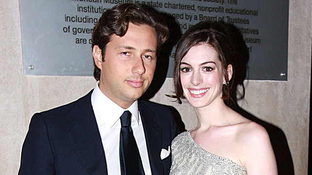 PHOTO: Raffaello Follieri, left, and Anne Hathaway pose at The American Museum of Natural History's Annual Winter Dance, March 11, 2008 in New York City.