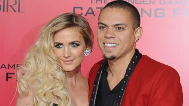 "PHOTO: Ashlee Simpson and Evan Ross arrive at the Los Angeles Premiere ""The Hunger Games: Catching Fire"" at Nokia Theatre L.A. Live on Nov. 18, 2013 in Los Angeles, Calif."