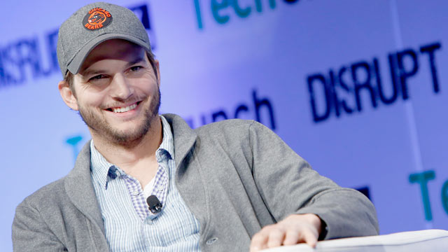 PHOTO: Ashton Kutcher speaks onstage at TechCrunch Disrupt NY 2013 at The Manhattan Center on May 1, 2013 in New York City.