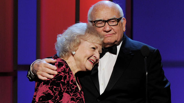 Betty White and ed asner married